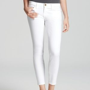 CURRENT/ELLIOT Stiletto White Skinny Jeans Size 27